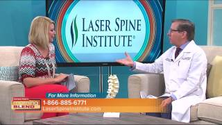 Laser Spine Institute was featured on Tampa Bays Morning Blend Michael Perry