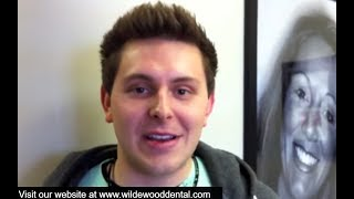 Preview of a video testimonial from an actual WildeWood Aesthetic Dentistry patient, Ryan's