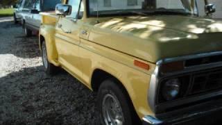 1977 Ford F100 Custom, Stepside