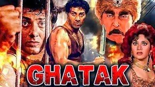 Ghatak (1996) Full Hindi Movie | Sunny Deol, Meenakshi Seshadri, Danny Denzongpa, Amrish Puri