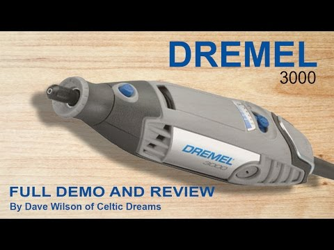 "Dremel 3000 ""FULL Review"" Unpack & Demo  in HD"