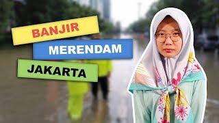 WOW TODAY: Awal Tahun 2020, Sejumlah Wilayah di Jakarta dan Bekasi Terendam Banjir