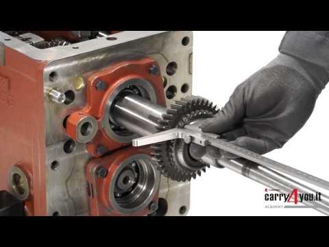 Transmisión 506 4WD Mantenimiento de la carcasa del embrague y desmontaje mecánico del Hi Low HD