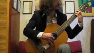 """""""Imagine"""" - performed on/arranged for solo classical guitar by Dave Seck"""