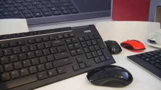 Rapoo 8200 Keyboard Mouse Kombo im Hands On [Deutsch]