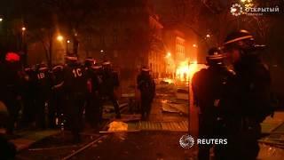 Париж в огне