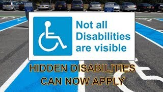 Blue Badge Updates to criteria and eligibility