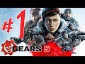 Gears 5 Parte 1: Isso Guerra Xbox One X Playthrough