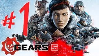 GEARS 5 - Parte 1: ISSO É GUERRA!!! [ Xbox One X - Playthrough ]