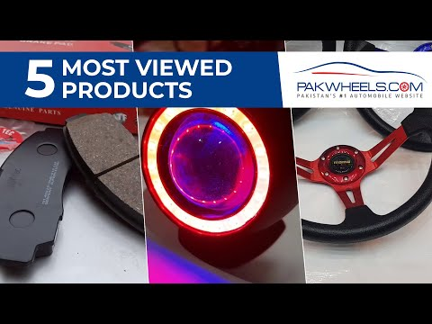 Five Most Viewed Products   PakWheels Auto Store