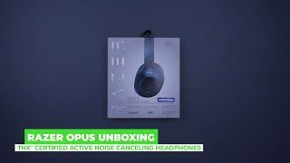 YouTube Video fIjGwOIs4mk for Product Razer Opus Wireless Headphones with THX Certification & Active Noise Cancellation by Company Razer Inc. in Industry Headphones