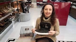 Vídeo Bota em Couro com Detalhe Fivela Ferrucci Cor Preto