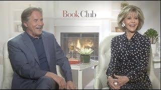 BOOK CLUB interviews - Fonda, Johnson, Keaton, Garcia, Bergen, Steenburgen, Craig T Nelson