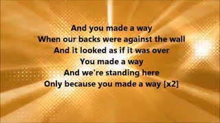 Travis Greene - Made A Way (Lyrics)