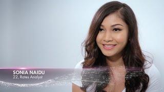 Sonia Naidu finalist Miss Universe Malaysia 2017 Introduction