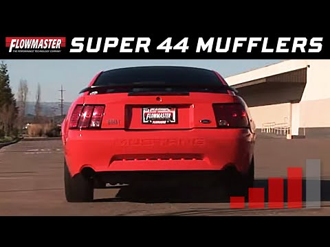 2004 Mustang Mach 1 with Flowmaster Super 44 Mufflers