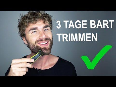 3 TAGE BART TRIMMEN und BARTKONTUREN RASIEREN ● So mach ich's - Bartpflege Tutorial