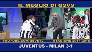 preview picture of video 'QSVS - I GOL DI JUVENTUS - MILAN 3-1  - TELELOMBARDIA'