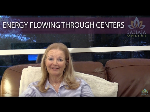 Experience of energy flowing through inner energy centers