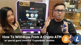 Krypto-Geldautomat in Singapur