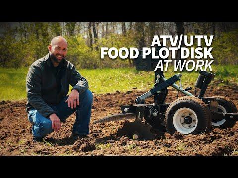 Demo Day! Food Plot Disc on an ATV/UTV in Backwoods Pasture – ABI Dirt