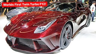 The TRUTH About my WORLDS FIRST FERRARI F12 TWIN TURBO...