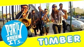 Timber   Pitbull Ft. Ke$ha   Ska Cover By Party Like It's...