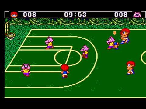 BASKET BALL NIGHTMARE MASTER SYSTEM