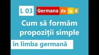 Cursuri de limba germanna pentru incepatori online dating