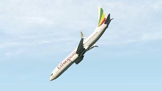 Ethiopian Airlines Flight ET302 - Crash Animation [X-Plane 11]