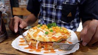 Begini Nikmatnya Candu Waffle dan Roti Bakar di Lampung