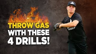 4 GREAT Baseball Throwing Velocity Drills To Throw Harder!