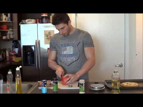 Video [Etch-Fitness] Healthy Pizza Under 400 Calories & in Less Than 10 Minutes