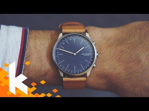 Uhr der Zukunft: Skagen Hybrid Review!