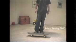 Owl City's skateboard instructional video - 2000
