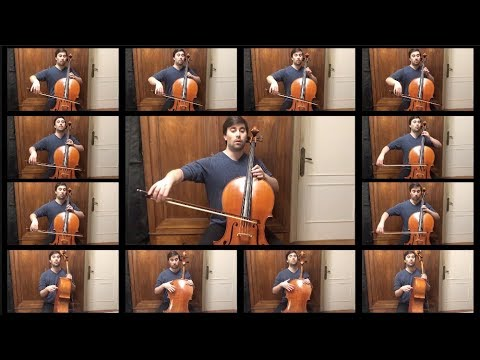 After 150H+ of work & to celebrate GoT Season 8, I arranged & played Game Of Thrones for 13 Cellos ! (Rains of Castamere)