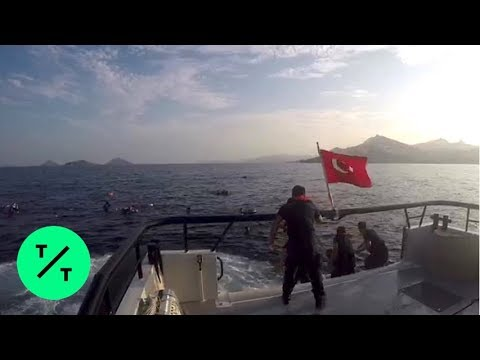 12 Dead, 31 Rescued After Migrant Boat Sinks off Turkish Coast