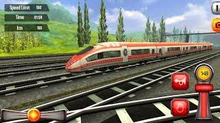 Euro Train Driving Games 1 - Train Simulator Games Android Gameplay