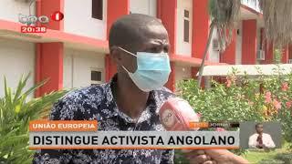 União Europeia – Destingue activista Angolano