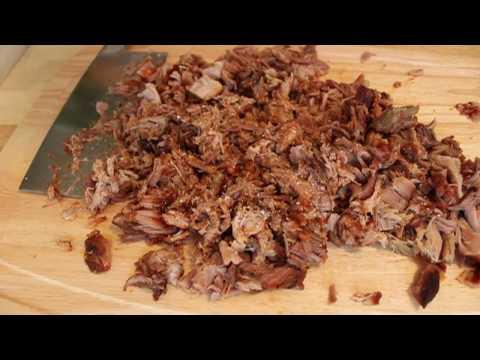 """Pulled Pork Shoulder Barbecue – Oven """"Smoked"""" Barbecued Pork Shoulder"""