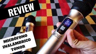 El Mejor Pack De Micrófono Inalámbrico De Calidad TONOR