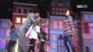 GD&TOP - Don't go home (지디앤탑-집에가지마) @SBS Inkigayo 인기가요 20110213