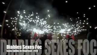 preview picture of video 'Diables Sexes Foc, al correfoc de Riurprimer'