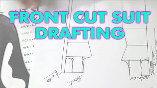Front Cut Suit Drafting|| Learn Dress Designing|| Dress Designing Tutorials