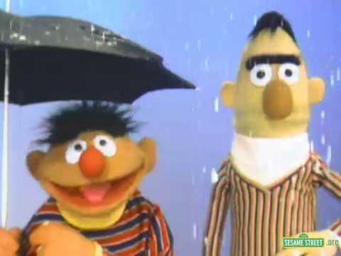 Classic Sesame Street   Ernie And Bert In The Rain