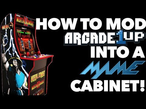 """Mod Your Arcade1up Cabinet with a 19"""" LCD Monitor"""