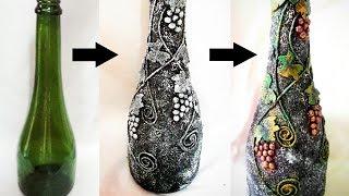 Bottle Decorating Ideas DIY | Bottle Craft | Bottle Decoration | Bottle Art | Bottle Design
