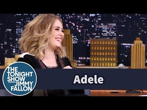 Adele Didn't Realize Just How Live SNL Is (видео)
