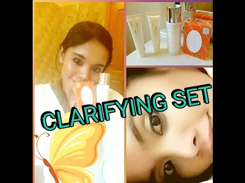 CLARIFYING SET BY DR. ALVIN ( 1 MONTH RESULT)