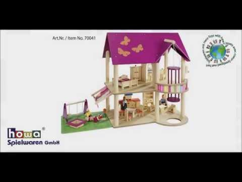 howa ® Montageanleitung Puppenhaus Art.Nr.70041/ howa ® assembly instructions Dollhouse No.70041